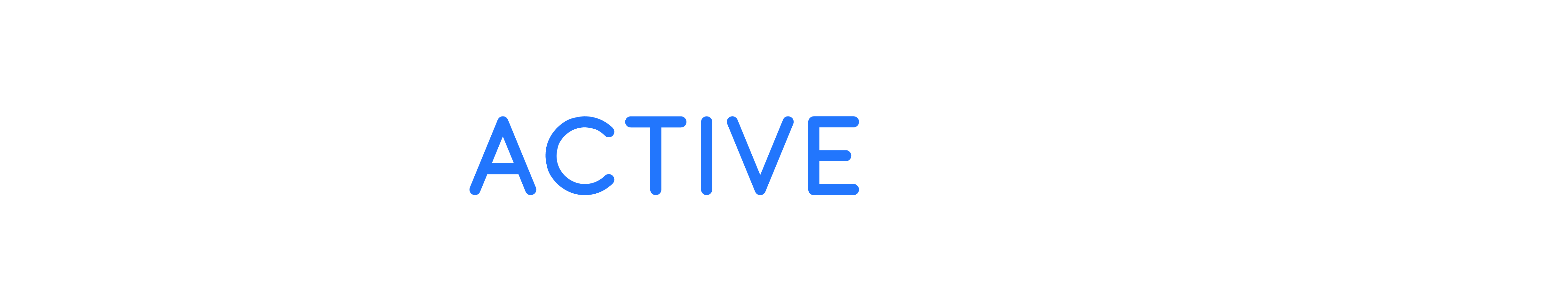 The Active Consumer White and Blue